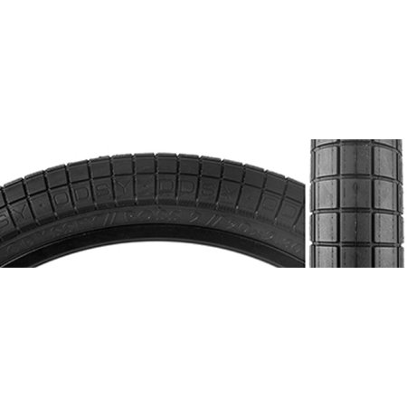 Tires A Ross V2 20X2.4 Bk/Big-Logo - T-209-BK, BMX 20x2.4 406 Wire Bk/Big-Logo 100 785 By Odyssey - Odyssey Bmx Parts