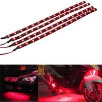 30cm Waterproof Light 1210/3528 15SMD Flexible LED Strips Auto DRL motorcycle car bike Decorative Lamp