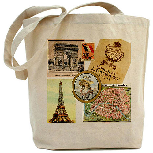 CafePress Vintage Tote Bag