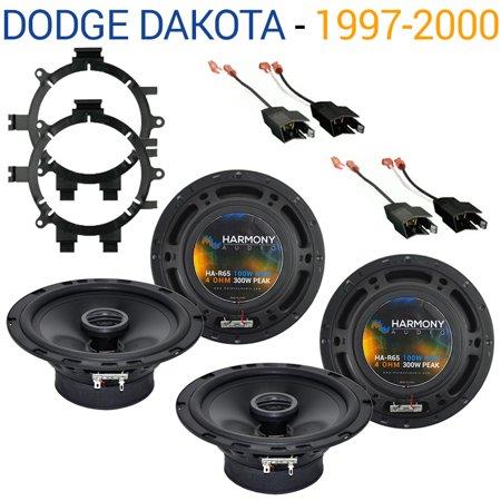Net Package - Dodge Dakota 1997-2000 Factory Speaker Replacement Harmony (2) R65 Package New