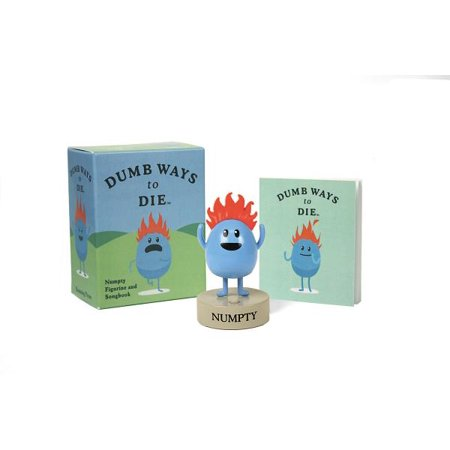 Country Sets Songbook - Dumb Ways to Die: Numpty Figurine and Songbook