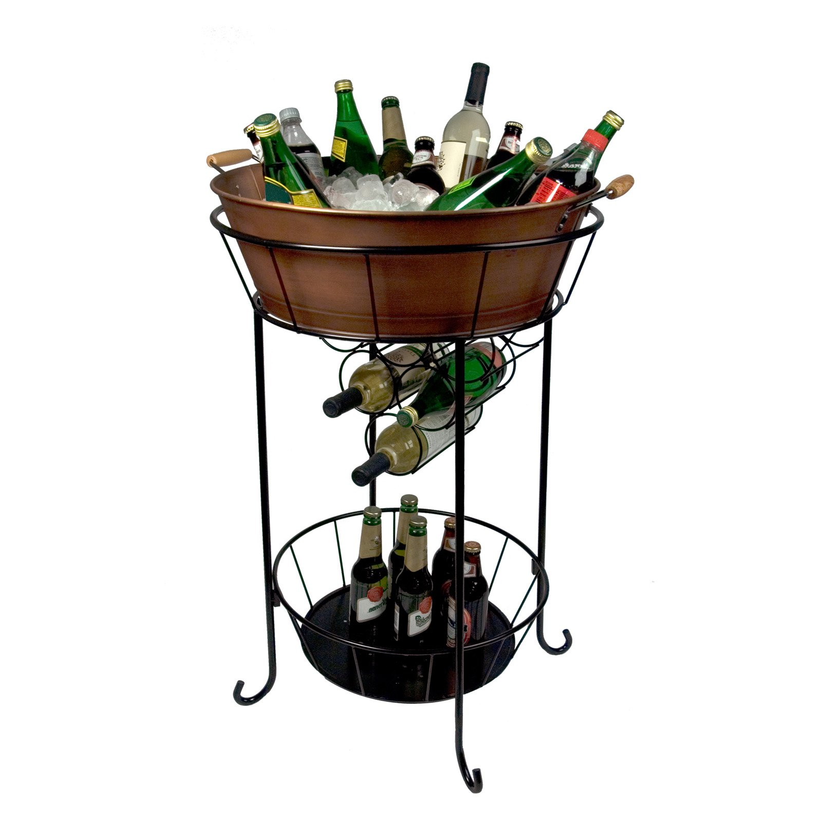 Lovely Outdoor Ice Bucket On Stand   Outdoor Designs VJ42