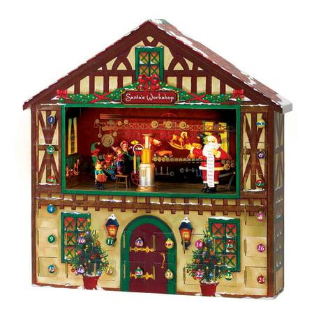 Mr. Christmas Animated Musical Advent House ()