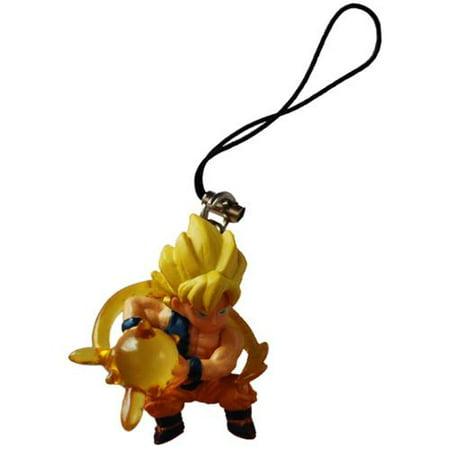 Bandai Dragon Ball Z Ripped Shirt Super Saiyan Goku Figure Phone