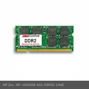 HP Inc. 494008-001 equivalent 2GB eRam Memory 200 Pin  DDR2-800 PC2-6400 256x64 CL6 1.8V SODIMM - DMS