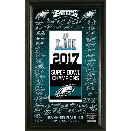 Philadelphia Eagles Highland Mint Super Bowl LII Champions Banner Raising Ceremony 12