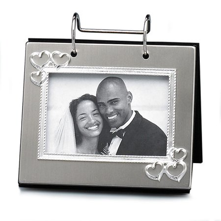 Fetco Home Decor Wedding Open Heart Photo Flip Album Walmartcom
