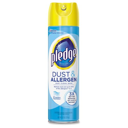Pledge Pledge Dust Allergen Furniture Spray Spray 12 Carton Off White Cb723756ct