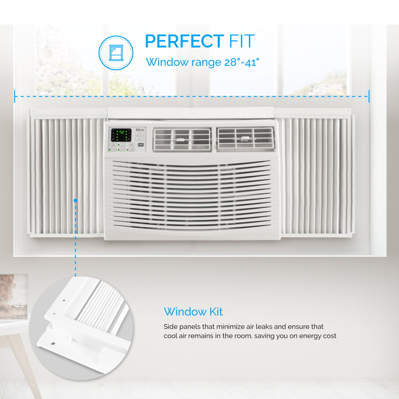 window air conditioner for 1000 sq ft house