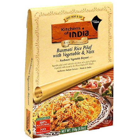 Kitchens Of India Basmati Rice Pilaf With Vegetable & Nuts, 8.8 oz ...