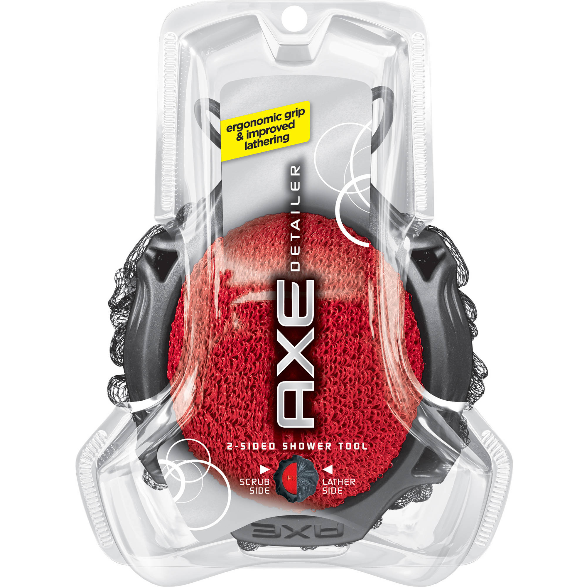 AXE Detailer 2 Sided Shower Tool