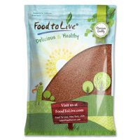 Flax Seeds, 12 Pounds - Kosher, Raw, Sproutable, Vegan - by Food to Live