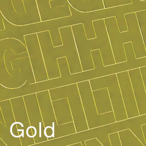 """Permanent Adhesive Vinyl Letters and Numbers, 3"""" 160pk, Gold"""