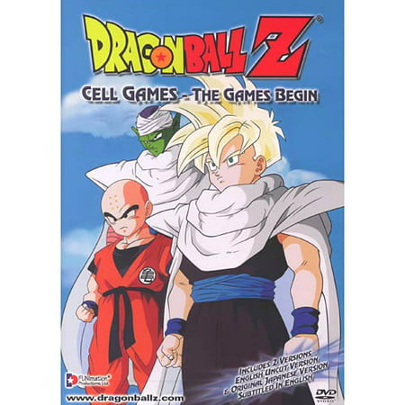 Dragon Ball Z - Cell Games - The Games Begin