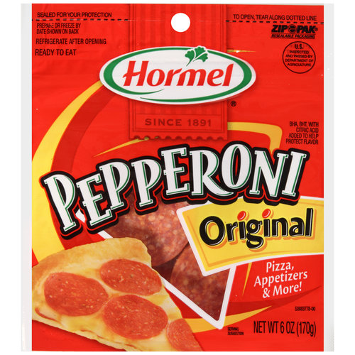 Hormel Original Pepperoni, 6 oz