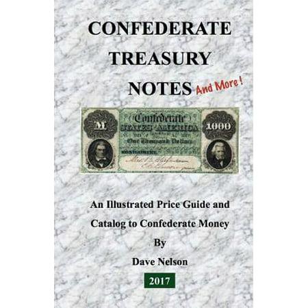 Brochure Catalog Guide - Confederate Treasury Notes : An Illustrated Guide & Catalog to Confederate Money