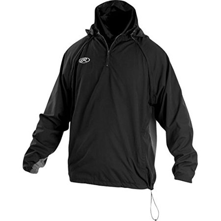 Rawlings Triple Threat Adult Jacket, Black, Size -