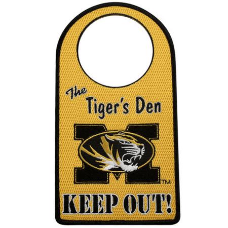 Missouri Tigers Embroidered Door Hanger - No Size