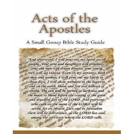 Book of Acts Bible Study Lessons - Course A
