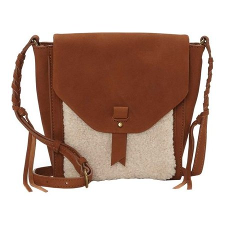 Women's Lucky Brand Pria Small Crossbody Bag Umber/Natural OSFA