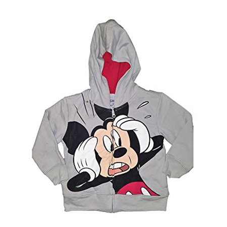 [P] Disney Toddler Boys' Mickey Mouse Fashion Sweat Shirt Hoodie (2T)](Disney Boys Clothes)