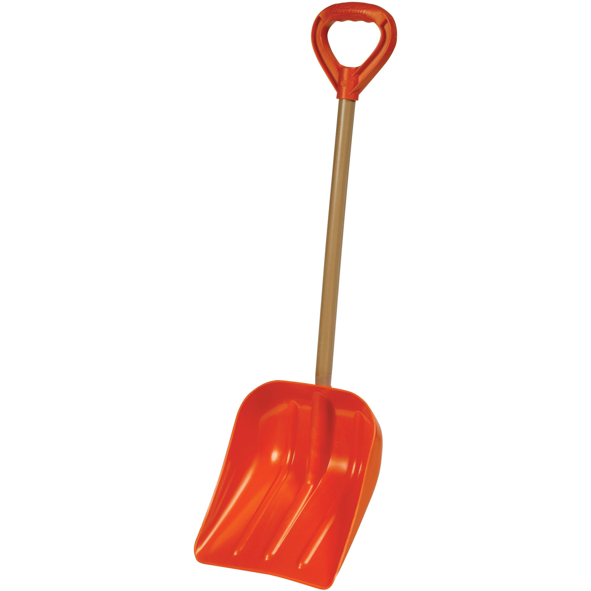 "Bigfoot Poly Super Snow Scoop Extra Deep Snow Shovel 12"" Handle by Snow Shovels"