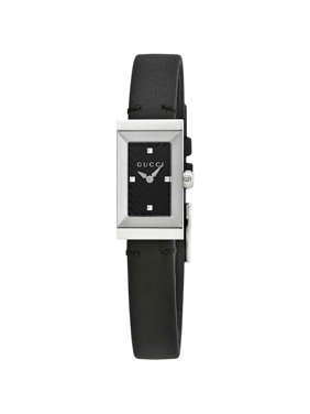 ec49e112a1c Free shipping. Product Image G-Frame Black Dial Ladies Watch YA147504. Gucci
