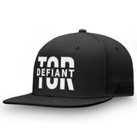 Toronto Defiant Fanatics Branded Profile Adjustable Snapback Hat - Black - OSFA