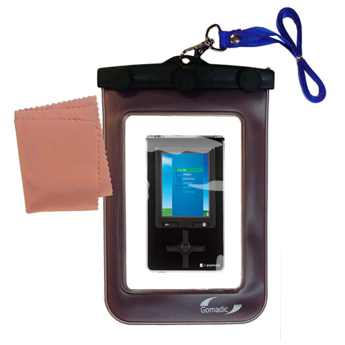 Gomadic Clean and Dry Waterproof Protective Case Suitablefor the Toshiba Gigabeat S MEV30K to use Underwater
