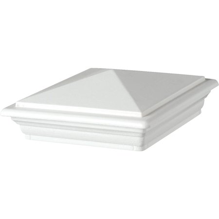 UFPI Deckorators Cxt White Classic Post Cap 142966