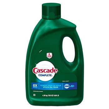 Product of Cascade Complete Gel Dishwasher Detergent, Fresh Scent, 155 oz.