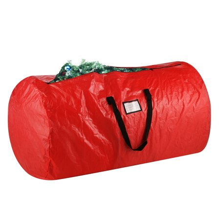 Elf Stor Deluxe Holiday Christmas Tree Storage Bag 12 Foot Red
