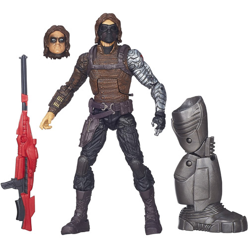 Captain America Marvel Legends Winter Soldier Figure