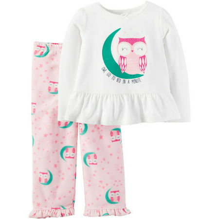 05f76f280 Child of Mine by Carter s - Baby Toddler Girl Pajamas 2 Pieces ...