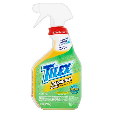 Tilex bathroom cleaner spray bottle lemon 32 ounces for Tilex bathroom cleaner