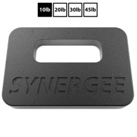 Synergee Cast Iron Ruck Plates. Weighted Plates for Rucking. Available in 10lbs, 20lbs, 30lbs and 45lbs.
