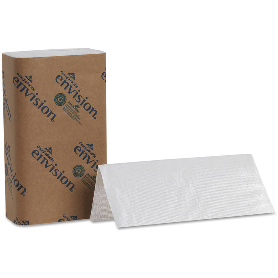 Georgia Pacific Envision One-Fold White Paper Towel, 250 sheets, 16 ct