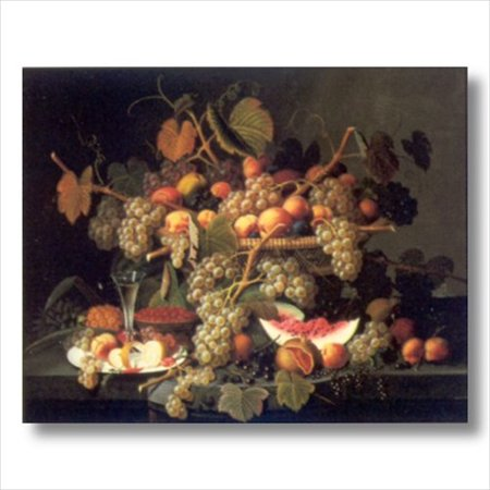 Grapes Fruit French Wine Wall Picture Art Print