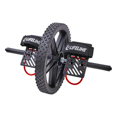 Lifeline Power Wheel for Ultimate Core Training Simultaneously Works up to 20 Muscles in Your Entire