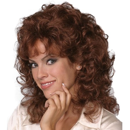 Fashion women medium wavy Lisa - Womens Wig