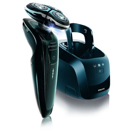 Item is Philips SensoTouch 3D Electric Razor with Jet Clean