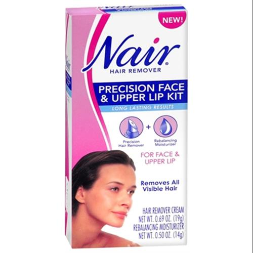 Nair Hair Remover Precision Face & Upper Lip Kit 1 Each (Pack of 6)