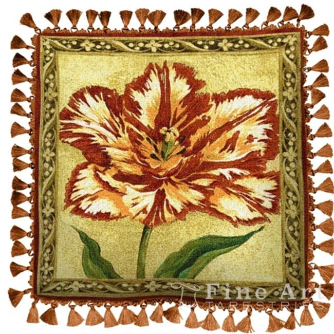 FineArtTapestries 1722-P Tulip Unveiled II Pillow