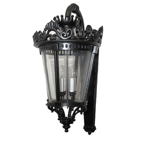 Alcott Hill Pierron Traditional 3-Light Outdoor Wall Lantern