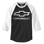 Chevrolet Logo 3/4 Sleeve Raglan -small
