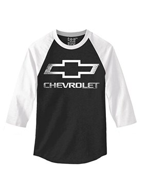 Chevrolet Logo 3/4 Sleeve Raglan -small