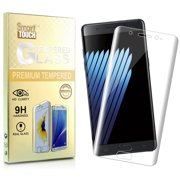 NOTE 7 TEMPERED GLASS, FULL-SIZE CURVED TEMPERED GLASS SCREEN PROTECTOR GUARD CRACK SAVER FOR SAMSUNG GALAXY NOTE 7