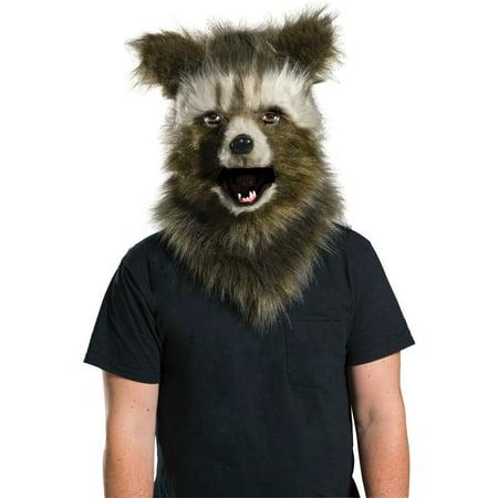 GotG2 Rocket Raccoon Adult Fur Mask (Raccoon Mask)