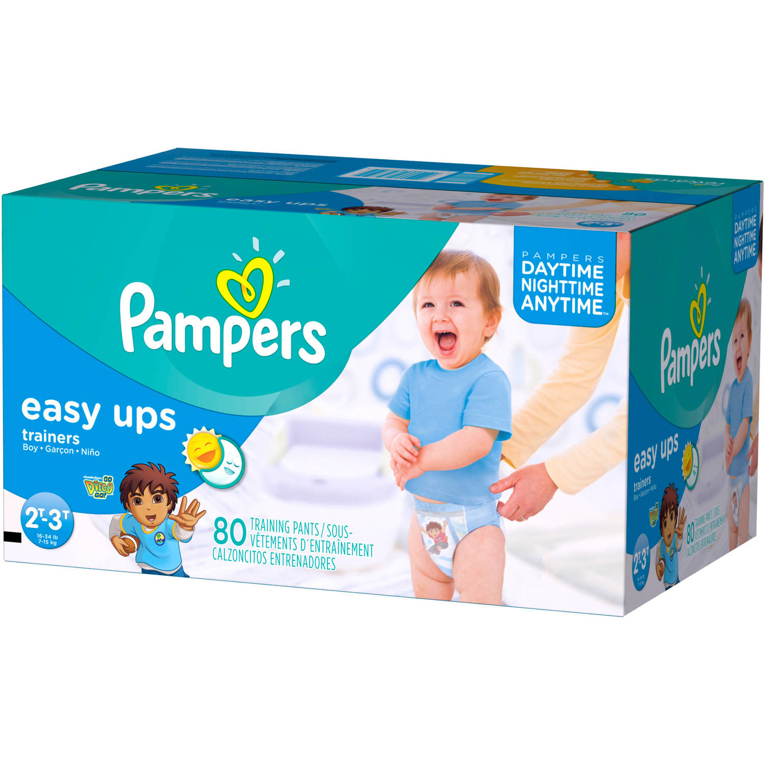 Pampers Easy Ups Boys' Training Pants, Super Pack (Choose Your Size)