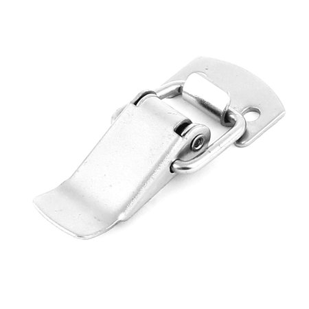 """Unique Bargains Hardware Toolbox Case Metal Toggle Draw Latch Silver Tone 2"""" Length"""